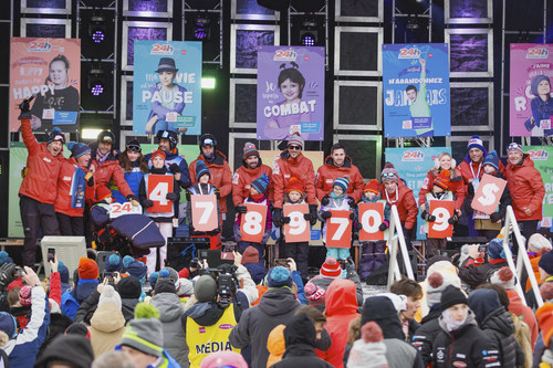 The organizers of Tremblant's 24h are elated to announce the unprecedented success of their 19th edition. The event culminated in a record fundraising total of $4,789,709 in support of children's causes, nearly $700,000 more than last year. This edition also drew the participation of a record number of teams (424) and participants (3,780). If there was even a sliver of doubt before this, it has been dispelled forever: Tremblant's 24h is firmly established as a fundraiser to be reckoned with and an unmissable winter sport event. The 19th edition is only just being put to bed and already we are planning the 20th. (CNW Group/24h Tremblant)