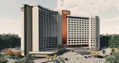 Drury Hotels is developing its largest property to date, the Drury Plaza Hotel Orlando Lake Buena Vista, and will begin to welcome guests by spring 2021. The new property, located in the DISNEY SPRINGS® Resort Area in Orlando, Florida, is the company's first Official Walt Disney World® Hotel and the fourth Drury Hotel in the state.