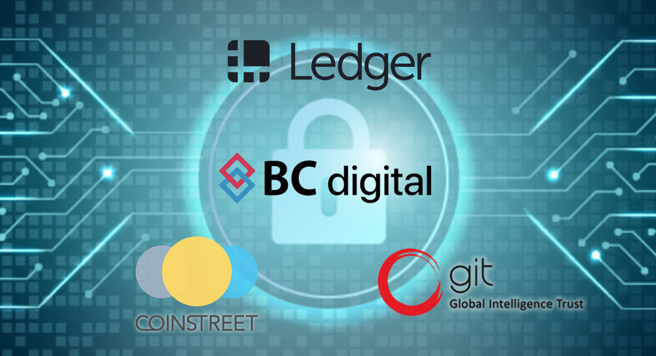 Digital Asset Custody Service Collaboration of Ledger Vault, Coinstreet Partners, BMI, BC digital, Global Intelligent Trust, and STO Global-X
