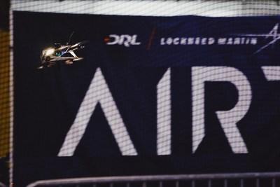 DRL RacerAI drone races autonomously during AIRR Championship.