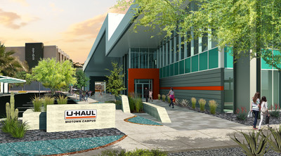 U-Haul® International is ready to break ground on a multi-million dollar conference and fitness center, which is set to be the showpiece of its ongoing campus expansion in Midtown Phoenix.