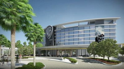 Exterior Shot for WB Hotel
