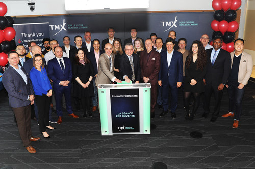 Interactive Brokers Group, Inc. Opens the Market (CNW Group/TMX Group Limited)