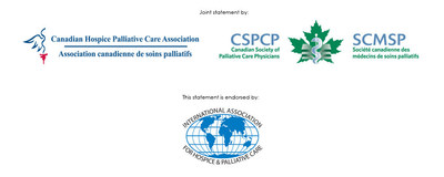 Étant donné la confusion actuelle chez les gens en ce qui concerne les soins palliatifs et l'aide médicale à mourir (AMM), l'Association canadienne de soins palliatifs (ACSP) et la Société canadienne des médecins de soins palliatifs (SCMSP) tiennent à clarifier la distinction entre les soins palliatifs et l'AMM. (Groupe CNW/Association canadienne de soins palliatifs)