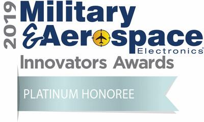 Military & Aerospace Electronics Innovators Awards Platinum Honoree