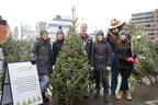 Forests Ontario Celebrates National Christmas Tree Day with Smokey Bear at the Toronto Christmas Market