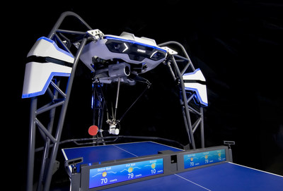 OMRON's FORPHEUS, the world's first and only AI-equipped robotics table tennis tutor, will star at CES 2020 with expanded capabilities to coach human players.