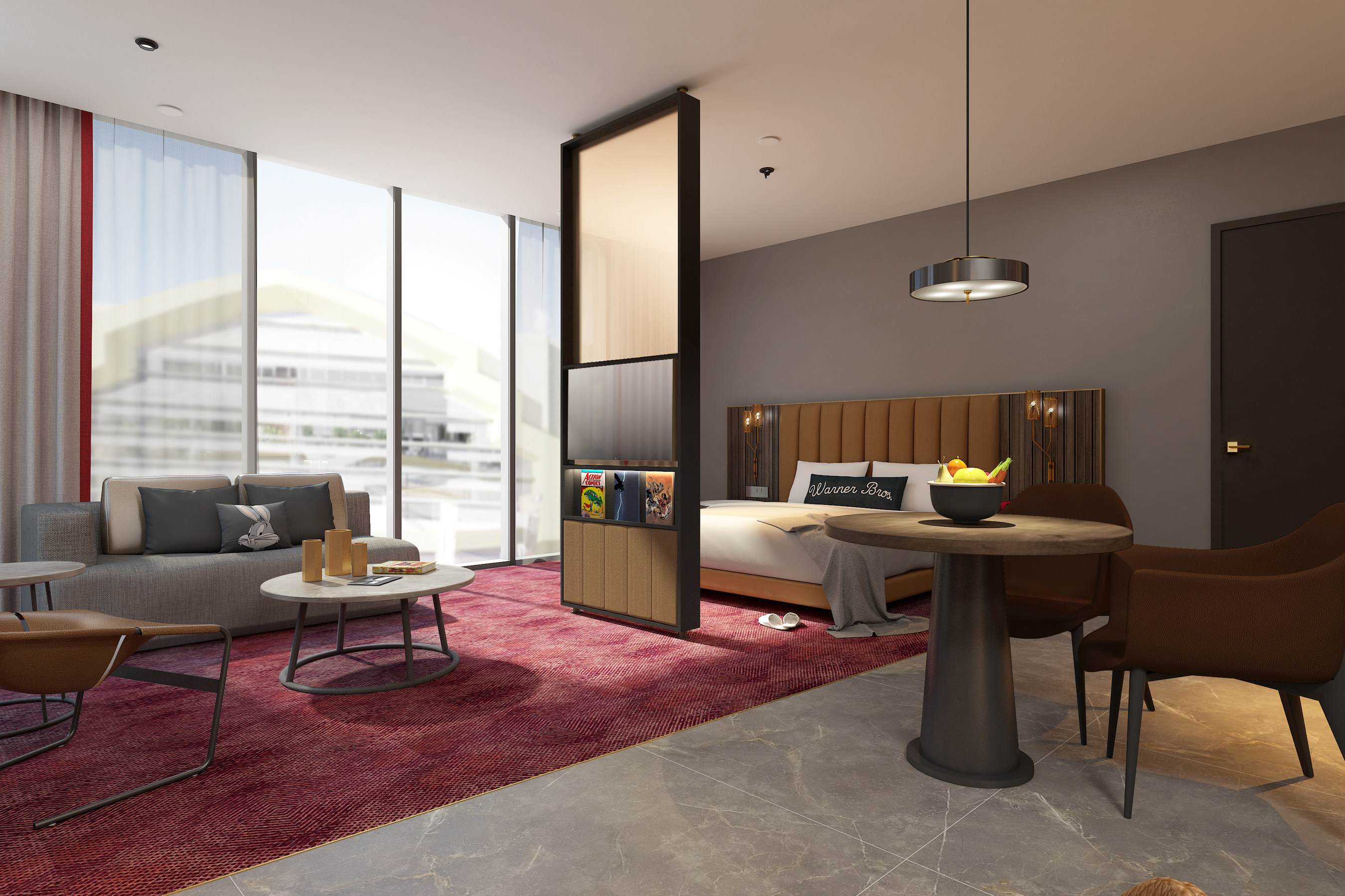 Miral And Warner Bros To Open World S First Warner Bros Hotel On Yas Island Abu Dhabi In 2021