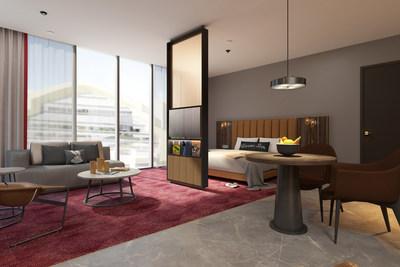 The WB Abu Dhabi Junior Suite