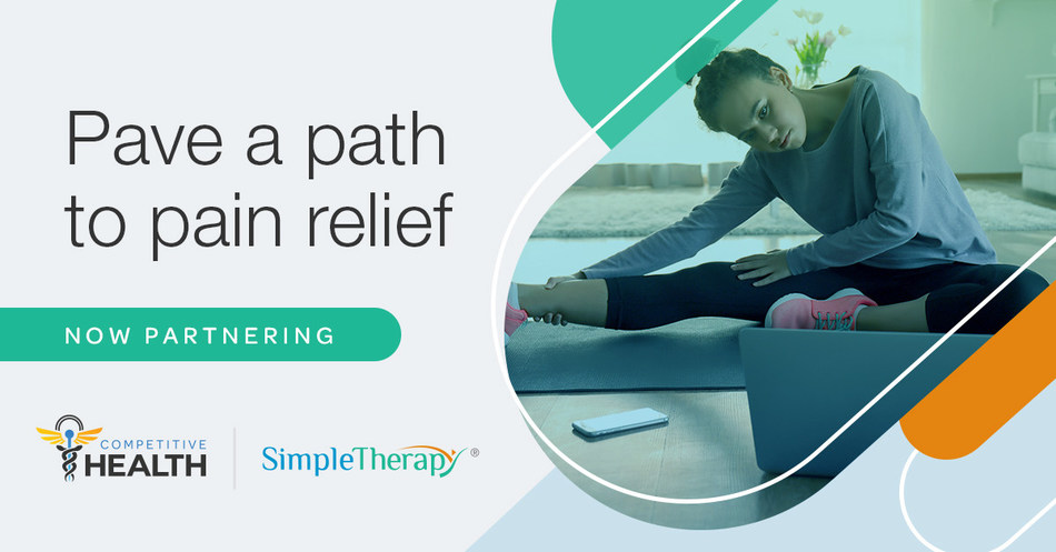 Competitive Health, Inc. partners with SimpleTherapy.