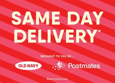 Old Navy + Postmates
