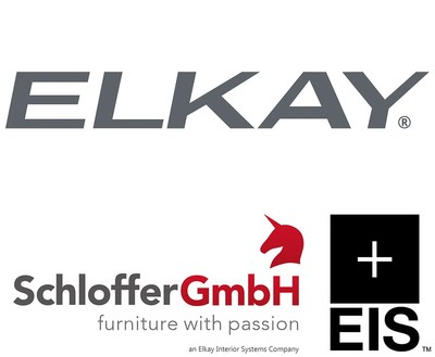 Elkay Interior Systems acquires European-based seating and décor businesses Schloffer GmbH, Designed2Work, and Designed2Work Intl.