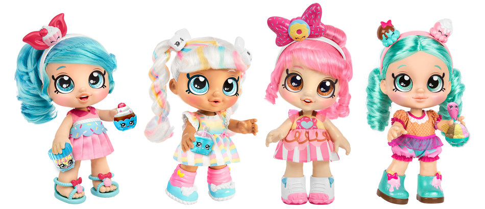 Kindi Kids, a line of quirky, colorful bobblehead dolls, is now recognized as the No. 1 property launched in the U.S. since July 2019 by the NPD Group/U.S. Retail Tracking Service, 3ME September 19, Dollars. Kindi Kids, Moose Toys' first foray into the preschool aisle, remain a leader in the category and are among the most coveted and top-selling toys this holiday season, with more exciting entertainment news to come next year.