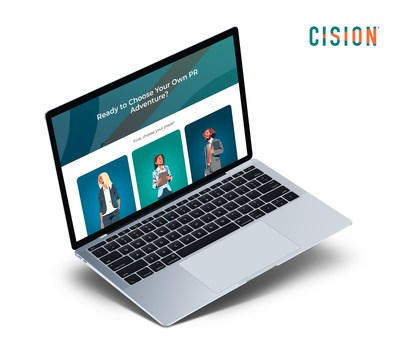 Cision Releases 'Choose Your Own PR Adventure', An Interactive, Digital Game for Communicators