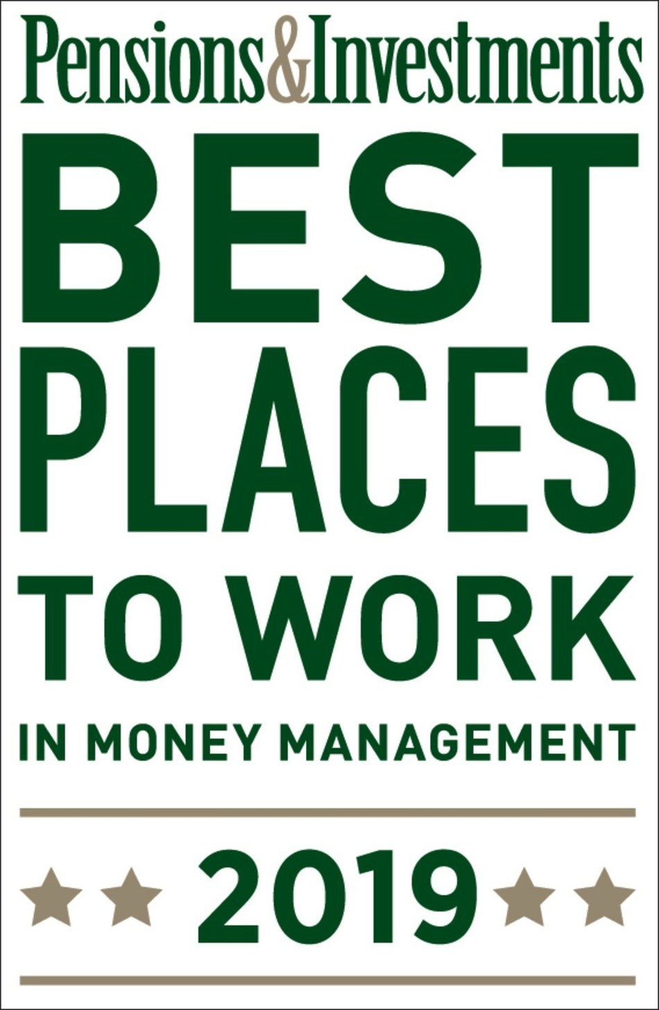 Highland Capital Management, Dallas-based investment management platform, wins Pensions & Investments' 2019 Best Places to Work in Money Management award.