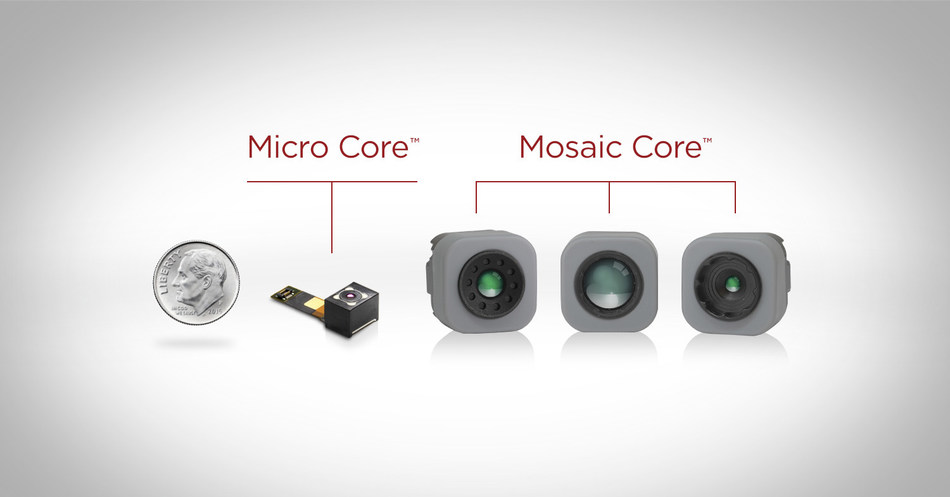 Integration of high-end thermal imaging technology made easier and more affordable with the new Micro Core™ and Mosaic Core™ series from Seek Thermal