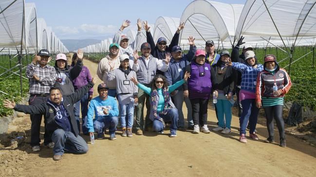 Members of the EFI Leadership Team in Baja California