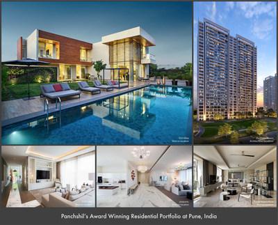 Panchshil's Award Winning Residential Portfolio at Pune, India
