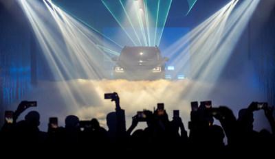 Mais de trezentos convidados assistiram ao lançamento da marca russa da GAC MOTOR e do GS8. (PRNewsfoto/GAC MOTOR)