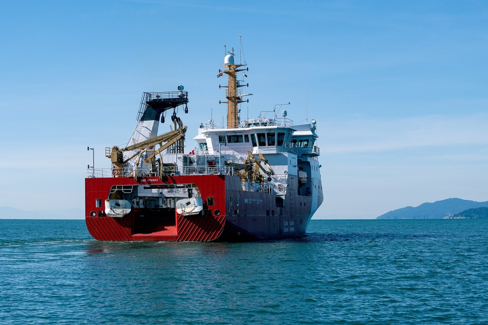 Seaspan Shipyards Delivers Its Second State Of The Art Offshore Fisheries Science Vessel To The Canadian Coast Guard