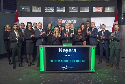 Keyera Corp. Opens the Market (CNW Group/TMX Group Limited)