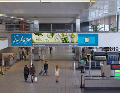 First-Ever Digital Media Network at Jackson-Medgar Wiley Evers Int. Airport Will Reach 1M Travelers Annually