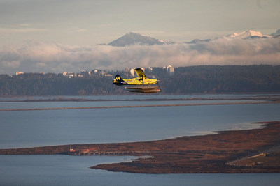 The world's first fully electric commercial aircraft takes flight. The Harbour Air ePlane is magnified by the magniX magni500, a 750-horsepower electric propulsion system.