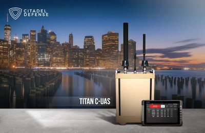 Citadel Defense's Titan counter drone solution uses artificial intelligence and machine learning to protect critical infrastructure, live events, and high value assets from nefarious or careless drone use.