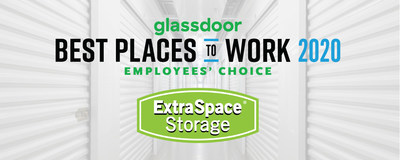 Extra Space Storage: Glassdoor's Best Places to Work 2020 List