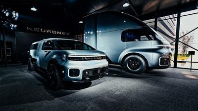 牛仁电动汽车在好莱坞和上海举办展览