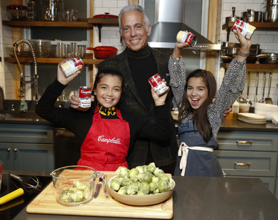 Campbell's Soup and Chef Geoffrey Zakarian Announce 'Kids in the Kitchen' Family Cooking Initiative