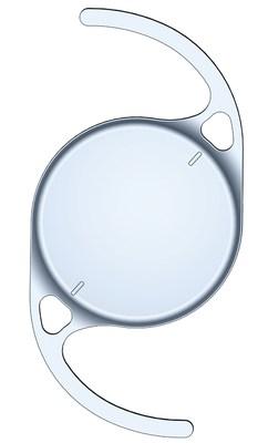 The enVista® toric MX60ET hydrophobic acrylic intraocular lens with StableFlex™ technology.