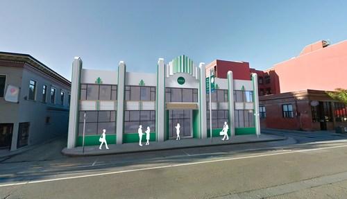 Artist rendering of the INSEAD San Francisco Hub for Business Innovation. (PRNewsfoto/INSEAD)
