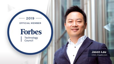 Jason Lau, CISO at Crypto.com Accepted into Forbes Technology Council