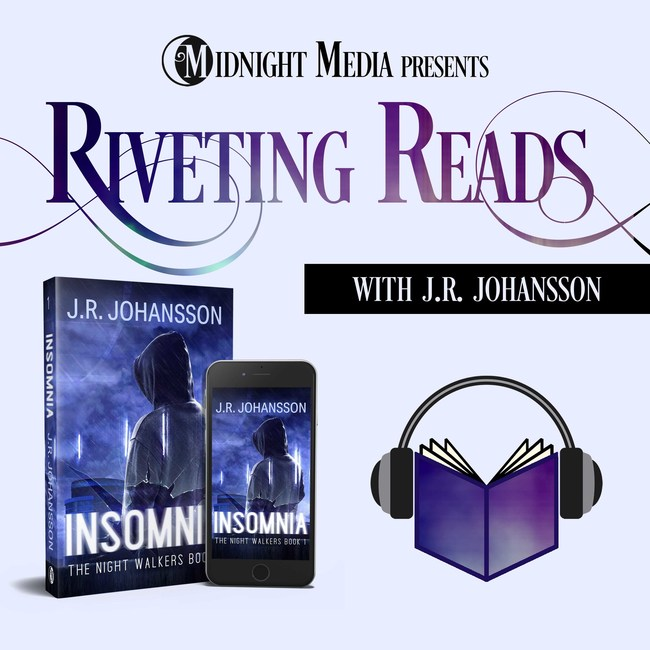 J.R. Johansson, the brains behind the best-selling 'Night Walkers' thriller book series, today announced the launch of a brand-new podcast: Riveting Reads. jrjohansson.com