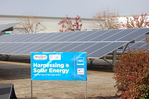 Hormel Foods Announces the Completion of Solar Array at its Swiss American Sausage Company Facility in California