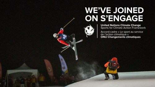 WE'VE JOINED United Nations Climate Change Sports for Climate Action Framework (CNW Group/Canada Games Council)