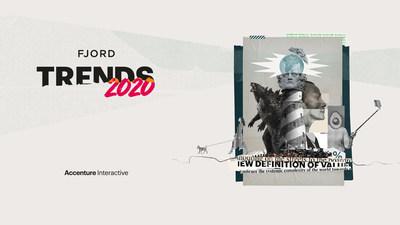 Le rapport Tendances Fjord en est à sa 13e édition annuelle sur l'avenir des affaires, de la technologie et du design (Groupe CNW/Accenture)