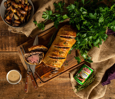 Classic Holiday Beef Wellington with Tony Chachere's Creole Twist