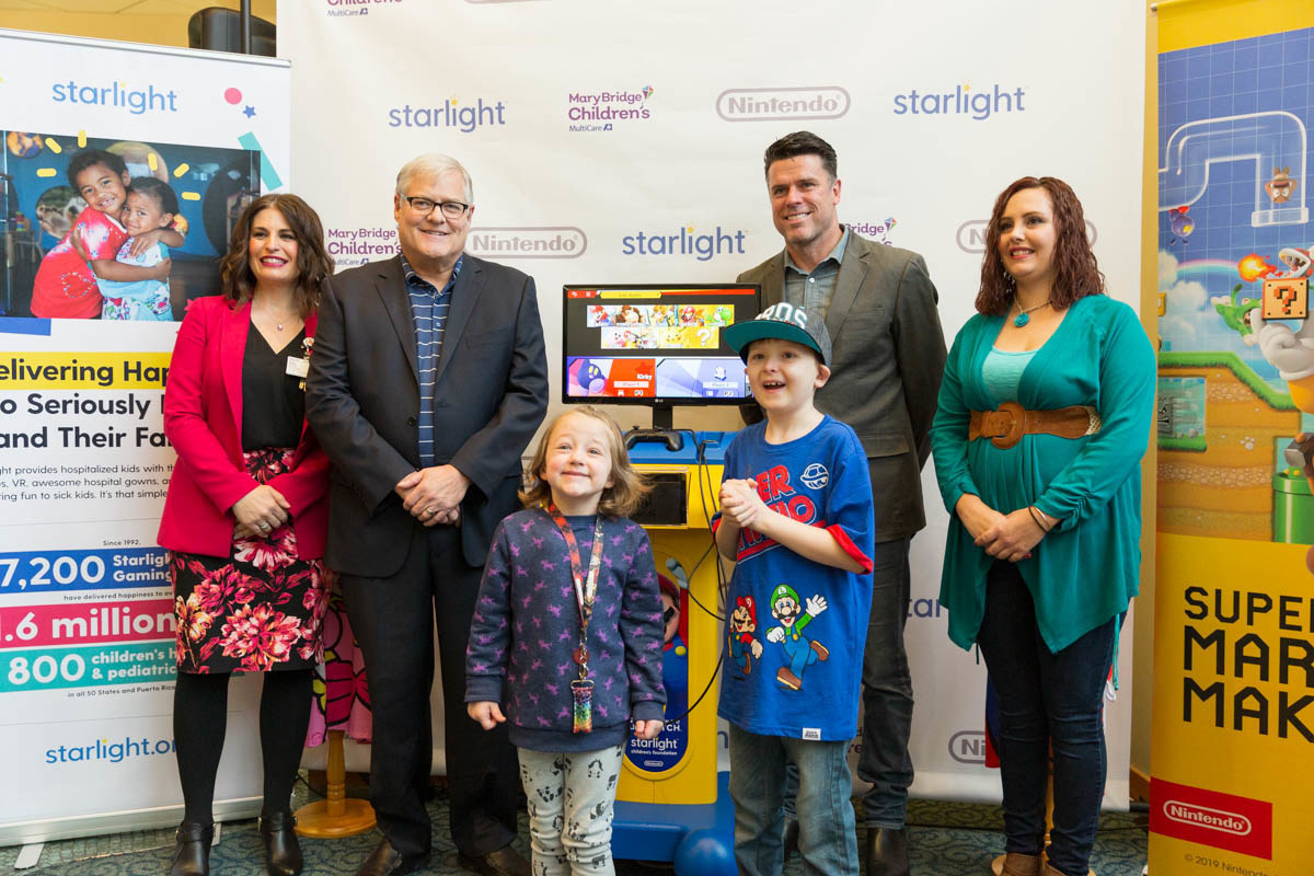 Starlight Children's Foundation and Nintendo of America Unveil the Starlight Nintendo Switch Gaming Station for Hospitalized Kids
