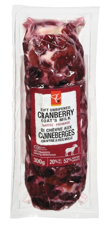 Product Recall: Select Units of PC® Cranberry Goat's Milk Cheese (CNW Group/Loblaw Companies Limited)