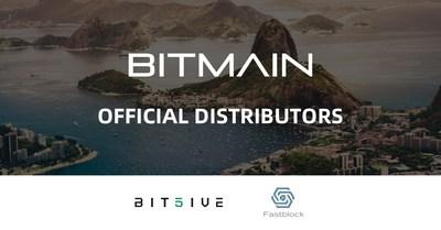 Bitmain refuerza su alcance global: designa a Bit5ive y Fastblock como distribuidores oficiales de Antminers en Sudamérica