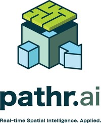 The industry's first and only Machine Learning (ML) enabled Spatial Intelligence platform using anonymous location data to drive real-time business insights (PRNewsfoto/Pathr.ai)