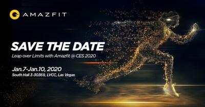 Huami Amazfit confirma el lanzamiento mundial de productos en el CES 2020, más allá de los relojes inteligentes
