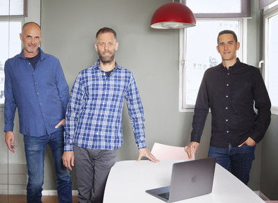 Sproutt founders: Yoav Shaham - CEO & Co Founder, Itai Brickner - Co Founder & CTO, Assaf Henkin - Co Founder & President