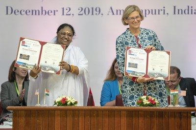 University of Arizona and Amrita University of India Partner for Education and Research
