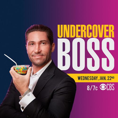 Dippin' Dots CEO Scott Fischer to be Featured on CBS Hit Series UNDERCOVER BOSS Jan. 22