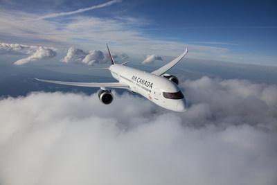 Le fleuron du parc aérien d'Air Canada, le 787 Dreamliner de Boeing. (Groupe CNW/Air Canada)