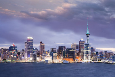 Le 787 Dreamliner de Boeing qui a assuré le vol inaugural AC51 d'Air Canada a décollé la nuit dernière de Vancouver et est arrivé à Auckland, marquant le début du service saisonnier Canada-Nouvelle-Zélande. (Groupe CNW/Air Canada)