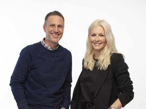 John Patroulis, Worldwide Chief Creative Officer of Grey, and Justine Armour, new Chief Creative Officer of Grey New York